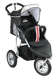 Jogger Kinderwagen zum Laufen knorr-baby 883888 - Joggy S sport-style