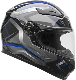 Vega Helmets AT2 Street Motorcycle Helmet for Men & Women – DOT Certified Full Face Motorbike