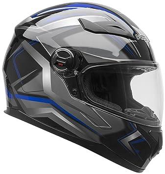 Casco de moto para hombre y mujer AT2 de Vega Helmets - Casco integral con certificación