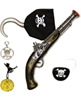 Fancy Dress Up Party Pirate Accessories Set Boys Adults Kids Childrens Toy