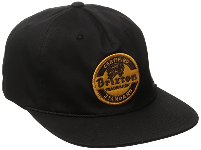 8ae965d59a002 ... italy brixton mens soto snapback black one size ac576 d8dbf ...