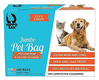 Hippo Sak Extra Large Pet Poop Bags