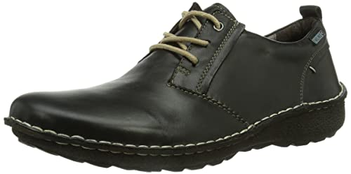 Santiago M7b_i17, Zapatos de Cordones Oxford para Hombre, Negro (Black), 43 EU Pikolinos
