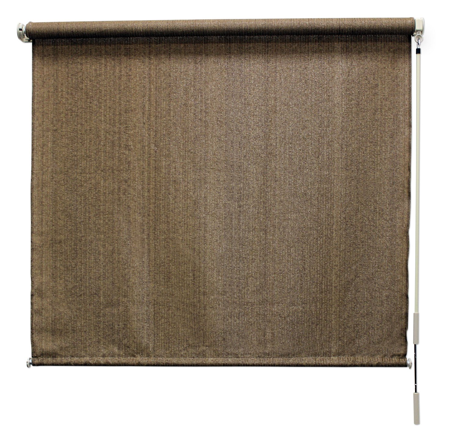 Coolaroo Exterior Roller Shade, 8 by 8-Feet, Walnut product image