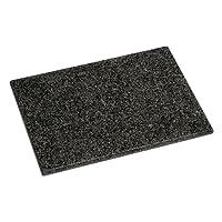 Get Goods Planche à découper, Noir Moucheté Granite, H2X W40x D30CM