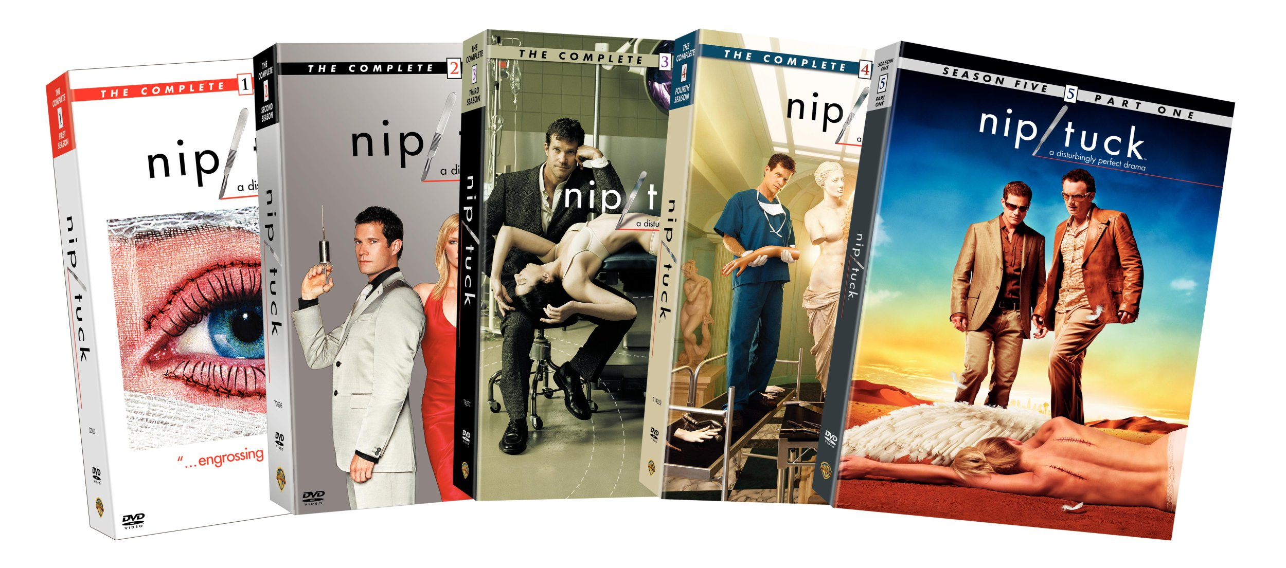 Nip/Tuck: The Complete Seasons 1-4 and Season 5, Part 1