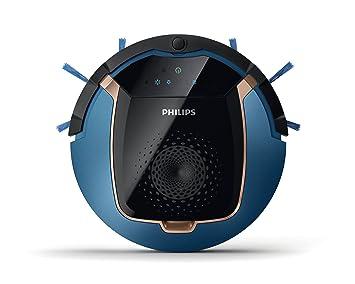 Philips SmartPro Active FC8812/01 aspiradora robotizada Sin bolsa Negro, Azul 0,4