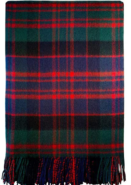 Image Unavailable. Image not available for. Color  Macdonald Clan Modern  Tartan Lambswool Blanket f5024757b