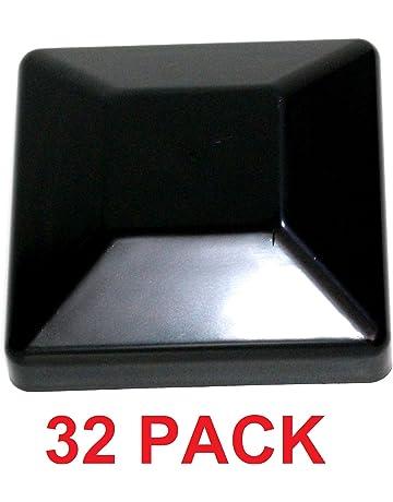 685b7f29ba7 JSP Manufacturing Plastic New Fence Post Black Caps 4X4 (3 5 8) Pressure