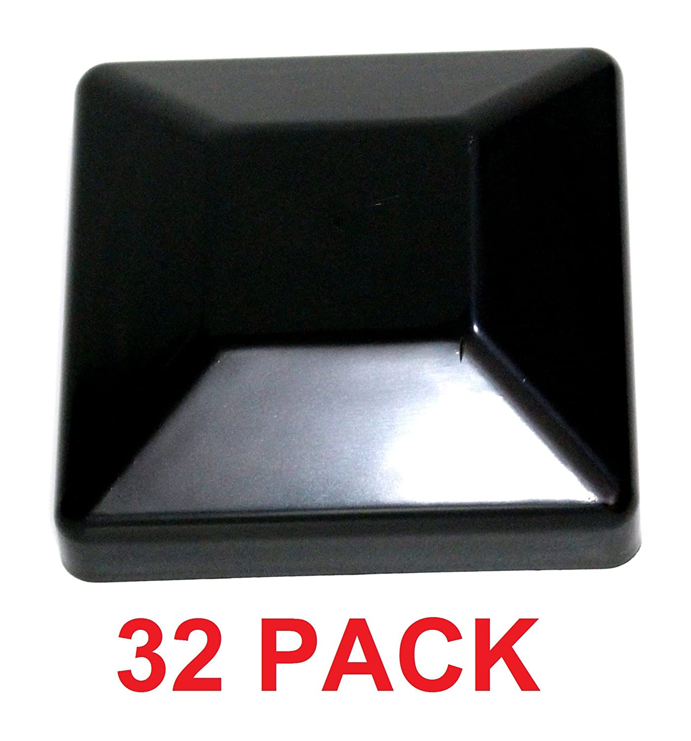 3 5//8 Pressure Treated Wood Made in USA MULITPACK Wholesale Bulk Pricing JSP Manufacturing Plastic New Fence Post Black Caps 4X4