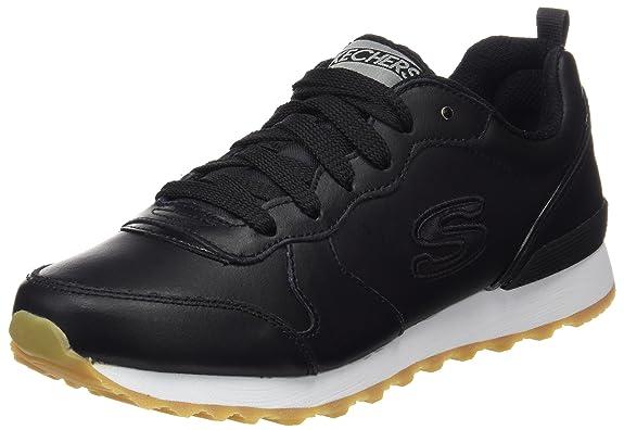Skechers Originals OG 85 Street Sneak Low, Zapatillas de Deporte para Mujer, Negro (Blk), 37 EU