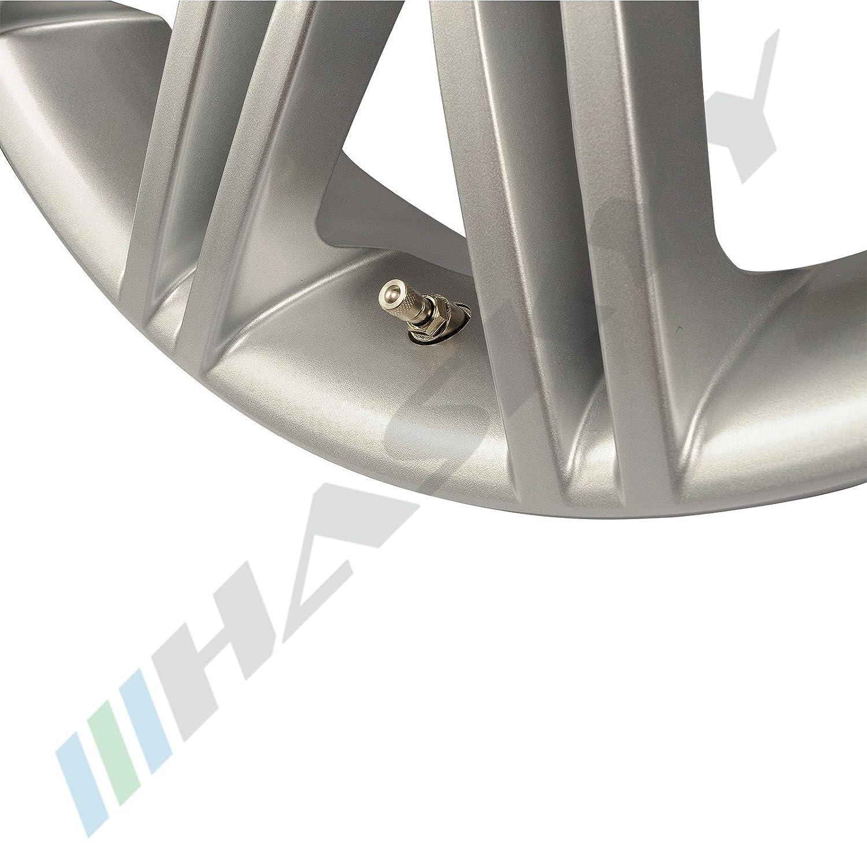 4 x 11,3mm Silber Metallventile Stahlventile Universal Felgenventile NEU