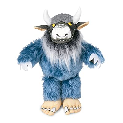 "Crocodile Creek Where The Wild Things are Bernard Plush Toy, 7"": Toys & Games"