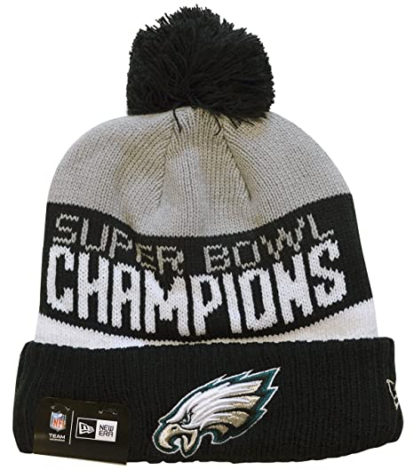 check out b8bad 34185 Image Unavailable. Image not available for. Color  New Era Philadelphia  Eagles Super Bowl LII 52 Champions Parade Sport Knit ...