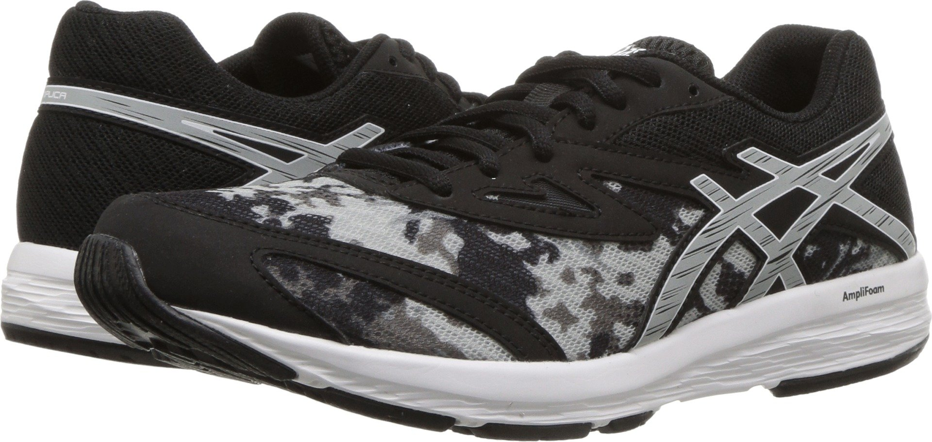 ASICS Youth Amplica Gs Black/Mid Grey 6 M