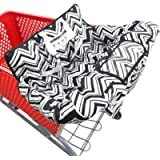 Portable 2-in-1 Shopping Cart & High Chair Covers for Babies, Kids, Infants, Toddlers | Universal Size with Free Carry…