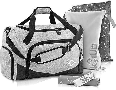 Baseball Gym Bag Baseball Fan Duffel Bag w//SHOE POCKETS