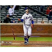 "$149 » Pete Alonso New York Mets Autographed 16"" x 20"" Bat Drop Photograph - Autographed MLB Photos"