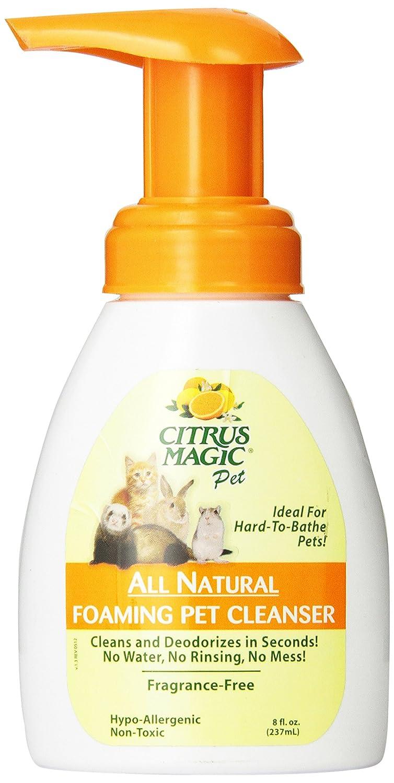 Citrus Magic Foaming Pet Cleanser, 8-Ounce Beaumont Products Inc. 613472330