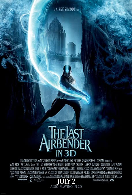 NEW MOVIE POSTER Avatar the last airbender ORIGINAL DESIGN,PRINT PREMIUM