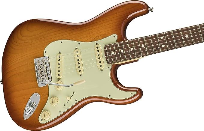 American Performer Stratocaster RW Honey Burst: Amazon.es ...