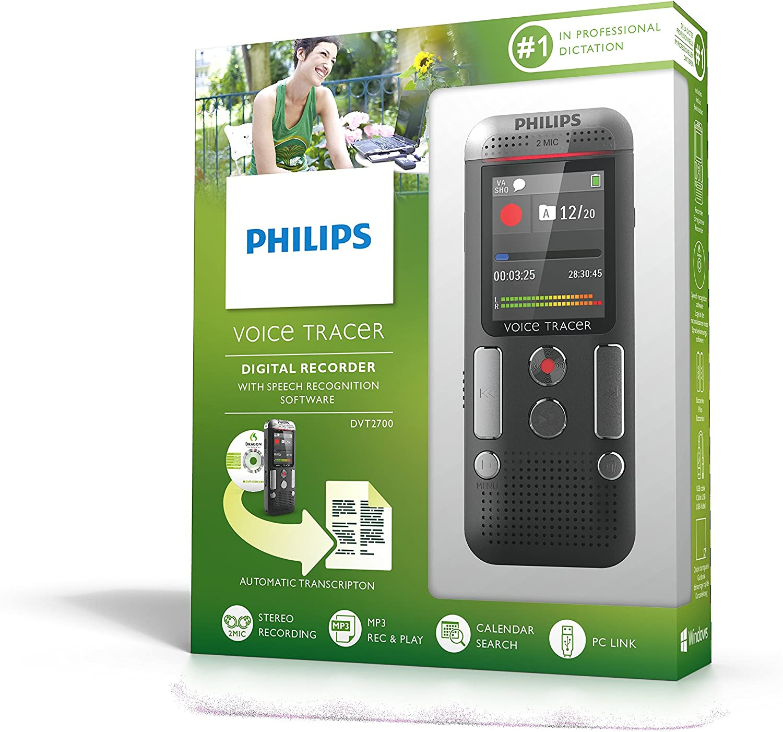 Philips DVT2500 Registratore Vocale