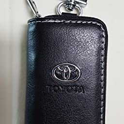 Amazon トヨタ カバー型 レザーキーケース Toyota アクア カムリ Voxy Noah クラウン マークx カローラ アルファード ヴェルファイア ハリアー ヴィッツ セルシオ