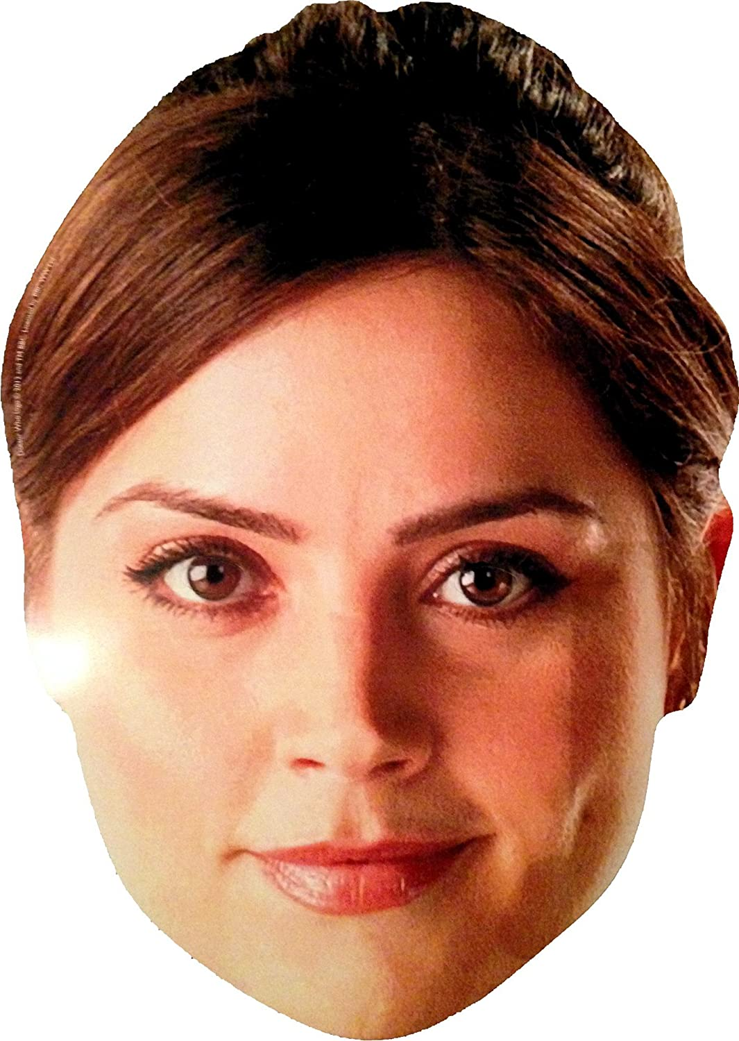 Doctor Who Clara Oswald Card Face Mask Amazon Toys Games