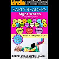 Early Readers SIGHT WORDS - For Beginner Readers - Preschool Kindergarten 1st Grade: Easy Phrases & Simple Sentences…