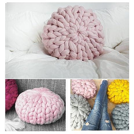 Knit A Round Pillow - Best Pillow 2018