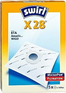 4 Staubsaugerbeutel Swirl geeignet für Bomann CB 939