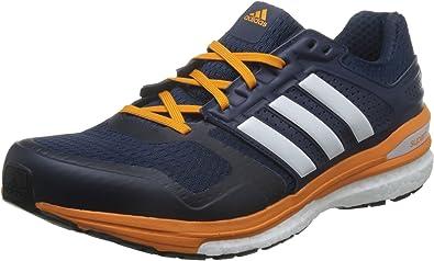 adidas Supernova Sequence Boost 8 M, Zapatillas de Running para Hombre, Azul Marino/Blanco/Naranja (Maruni/Ftwbla/Eqtnar), 49 1/3 EU: Amazon.es: Zapatos y complementos