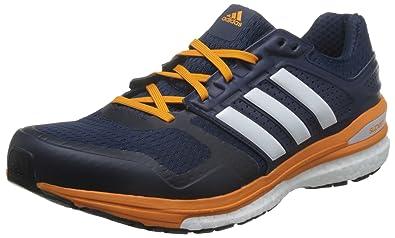 pretty nice ddda9 359a6 ... promo code for adidas mens supernova sequence boost 8 m running shoes  azul marino blanco naranja