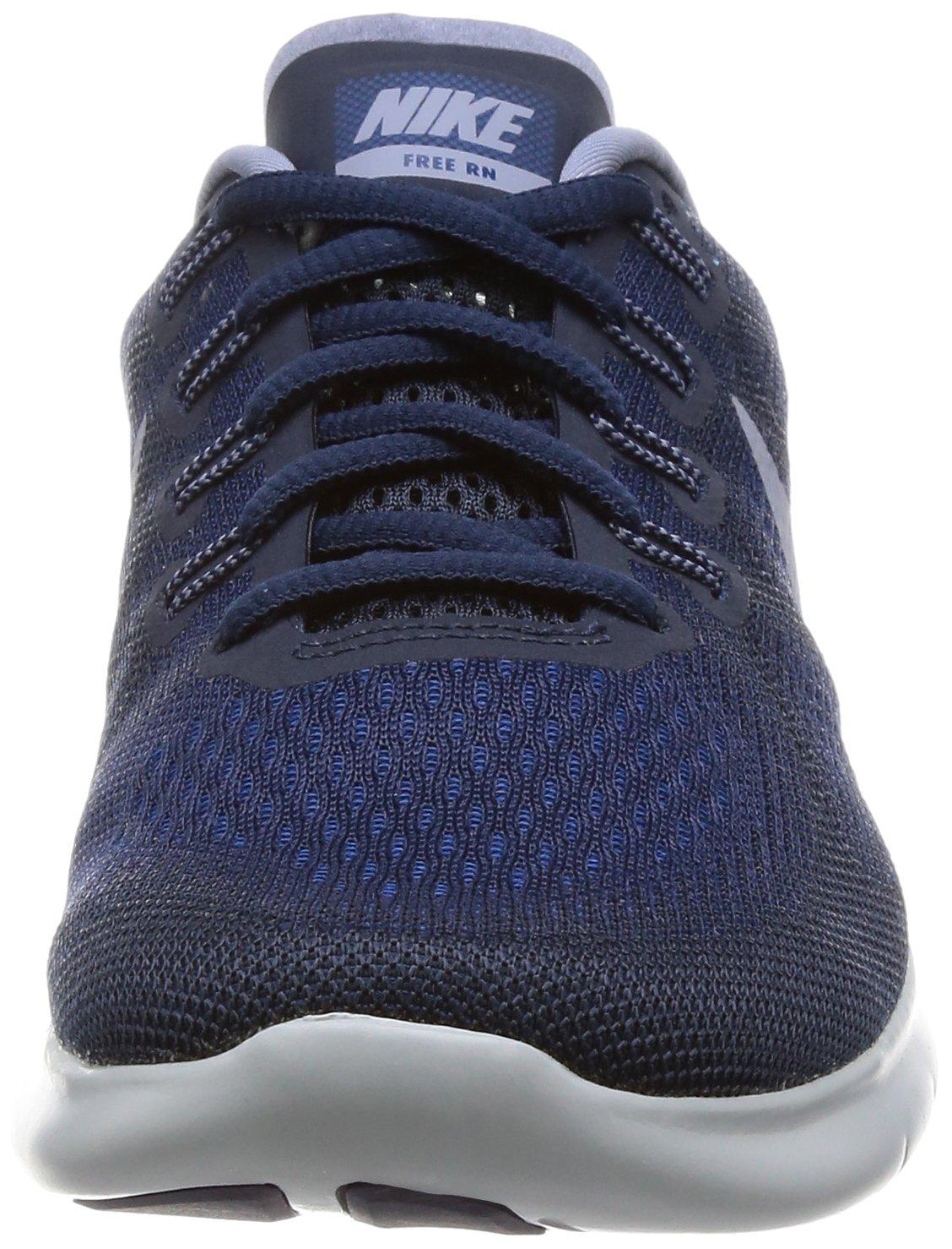 Nike Free RN 2017 Women's Running Shoes (6 M US, Binary Blue/Dark Sky Blue) by Nike (Image #4)