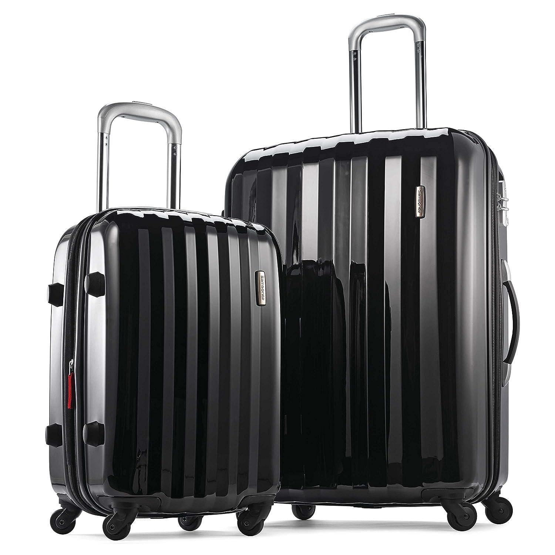 Samsonite Prism 2-Piece Hardside Spinner (20/28) Luggage Set, Black, Checked – Large (Model: 111720-1041) Samsonite Corporation - CA