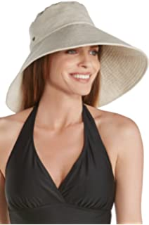 761c445c Coolibar UPF 50+ Women's Shannon Wide Brim Beach Hat - Sun ...