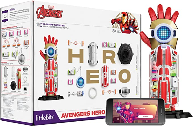 littleBits Avengers Hero Inventor Kit - Multicolor: Amazon.es: Juguetes y juegos