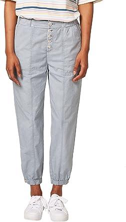 Edc By Esprit 048cc1b027 Pantalones Verde Dusty Green 335 W34 L32 Talla Del Fabricante 34 Para Mujer Amazon Es Ropa Y Accesorios