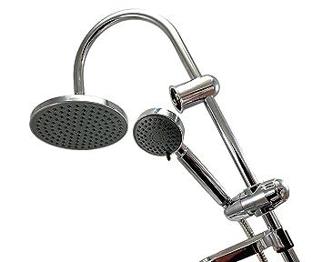 Regendusche Set Rund Duschset Handbrause Duschbrause ohne Duscharmatur