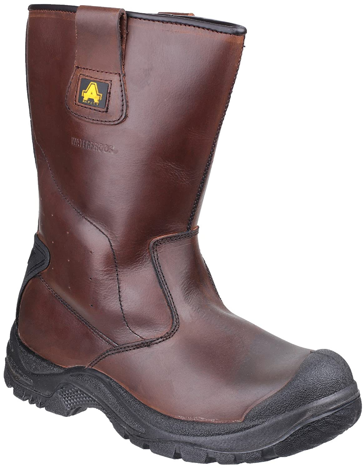 Amblers Safety  Herren & Damenschuhe AS249 Waterproof Rigger Stiefel