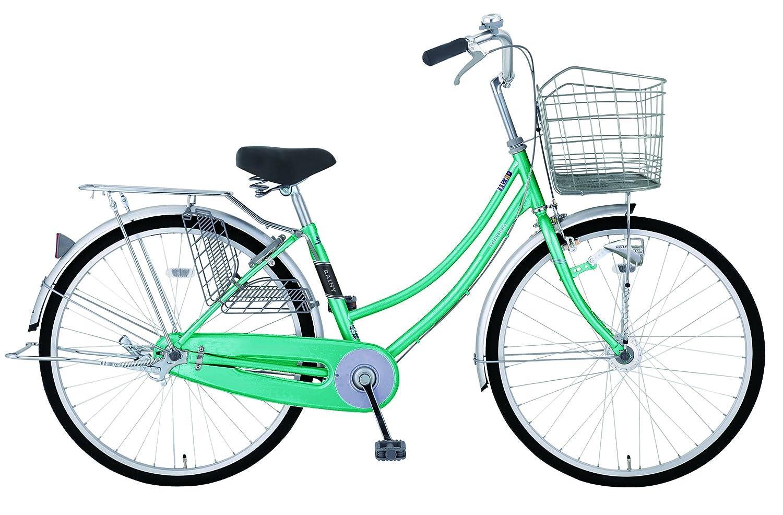 marukin(マルキン) 完全組立 27インチ自転車 LEDオートライト レイニーホーム グリーン MK-18-012 グリーン B078KFTF8Y