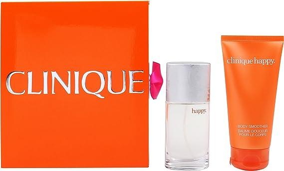 Clinique Happy regalo Set Femme/Woman, Eau de Parfum vaporisateur/Spray 30 ml, bodylotion 75 ml, 1er Pack (1 x 105 ml): Amazon.es: Belleza