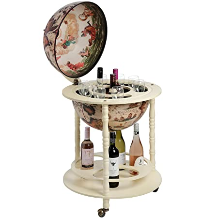 Ancient world globe map drinks cabinet bottle holder amazon ancient world globe map drinks cabinet bottle holder gumiabroncs Image collections