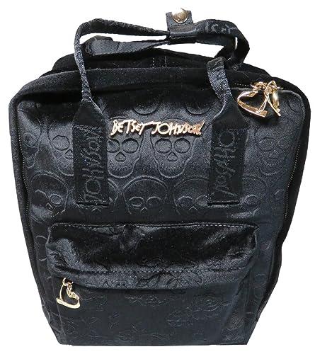 Amazon.com  Betsey Johnson Women s Velvet Solid Backpack c731c0776aac4