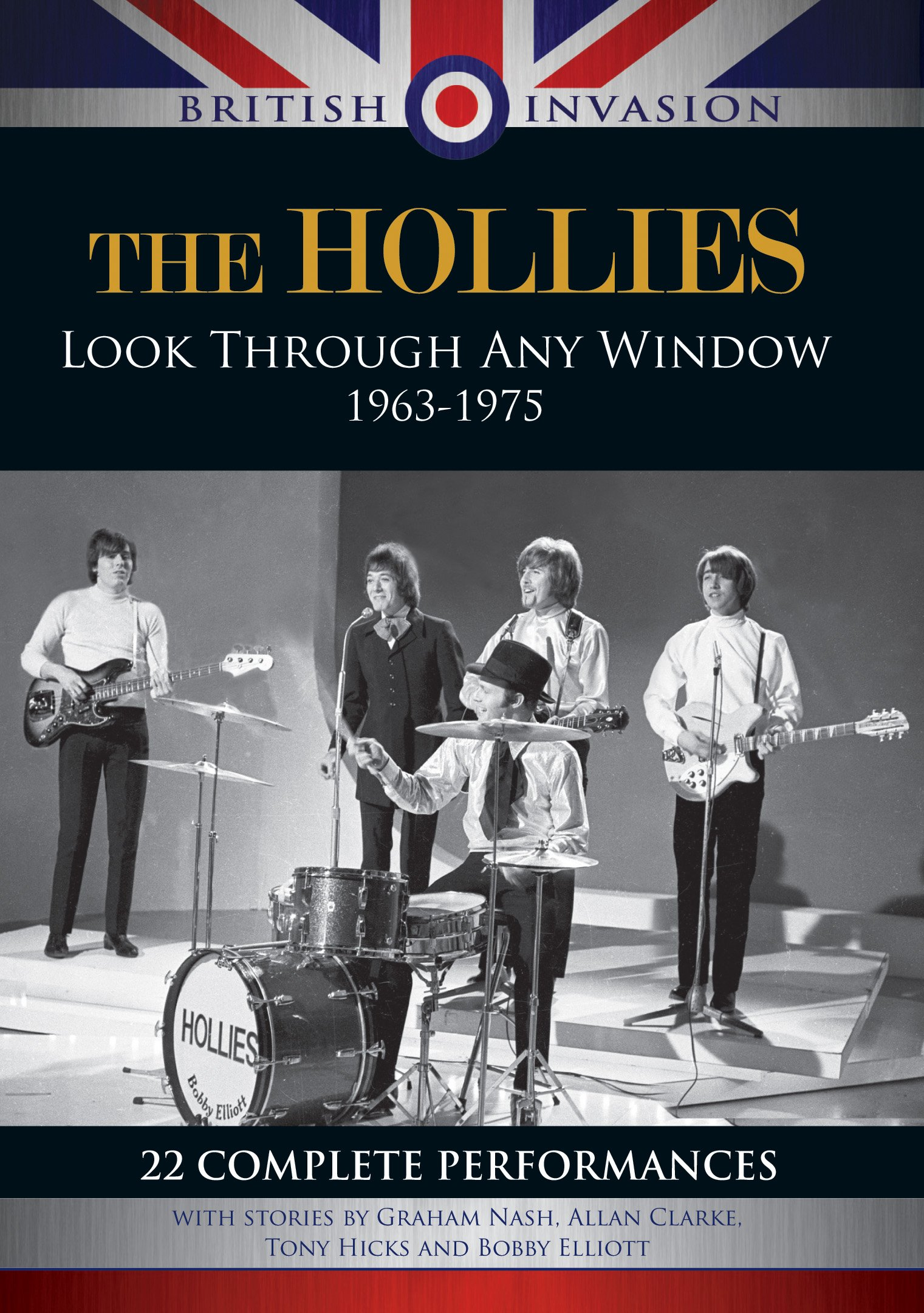 DVD : The Hollies - The Hollies: Look Through Any Window 1963-1975