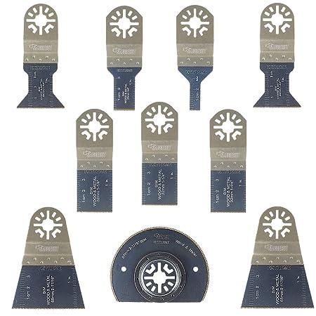 10x Saxton 44 mm bi-metal Blades Fits Fein Supercut /& FESTOOL Vecturo