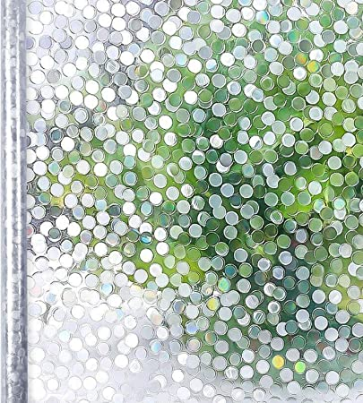 Homein Vinilo Ventana para Privacidad Vinilos Cristal Electricida Estática Pegatina Adhesivo Mampara Ducha Baño, 44.5 * 200cm, Película Facíl Quitar y Reutilizar de Baño Cocina Oficina Anti UV, Bambú: Amazon.es: Hogar