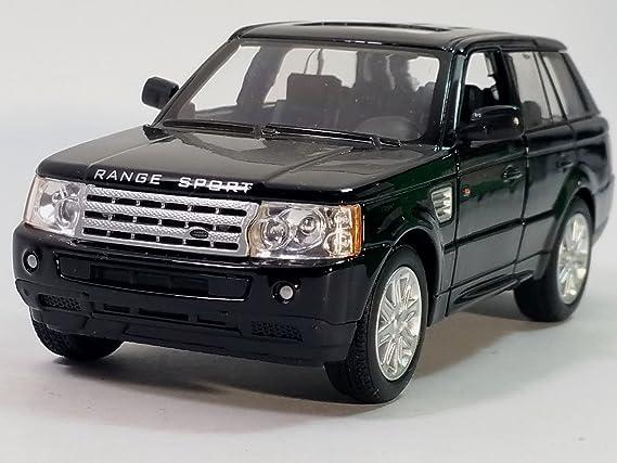 Kinsmart Black Range Rover Sport SUV 1/38 ScaleDiecast Car