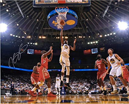 c04dad3ad79c Kevin Durant Golden State Warriors Autographed 16 quot  x 20 quot  Floater  Photograph - Panini Authentic