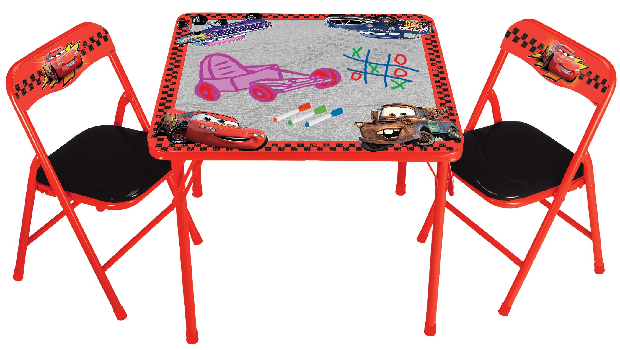 Kids Only Cars Erasable Activity Table